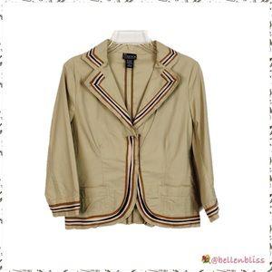 NWOT, Vintage Style Casual Blazer, Size Medium